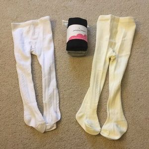 4 pairs of tights